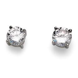 Stříbrné náušnice Oliver Weber Brilliance - 62062 - Ag925 (crystal)