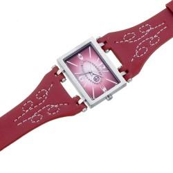Dámské náramkové hodinky Oliver Weber Bilbao - 0113 (red)