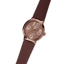 Dámské náramkové hodinky Oliver Weber Avignon - 0128 (brown)