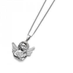 Stříbrný přívěsek Angel - 7311 - Ag925 (crystal) b95773c684d