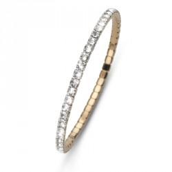 Náramek Oliver Weber Dance - 31001 (gold crystal)