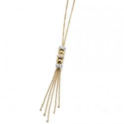 Náhrdelník Oliver Weber Fun - 11356 (gold crystal)