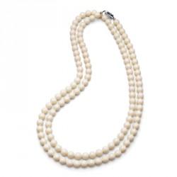 Náhrdelník Perlen Combi - 4332 (ivory cream)