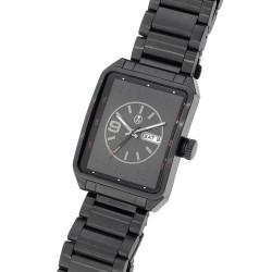 Unisex náramkové hodinky Oliver Weber Dublin - 0130 (black)