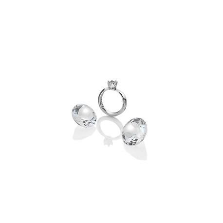 Přívěsek Hot Diamonds Prstýnek Anais element EX202