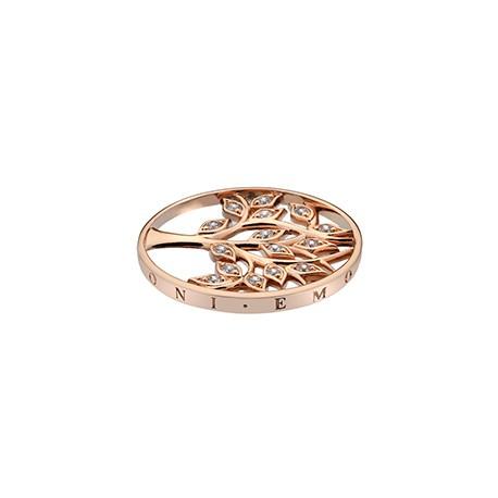 Přívěsek Hot Diamonds Emozioni Tree Of Life Rose Gold Coin