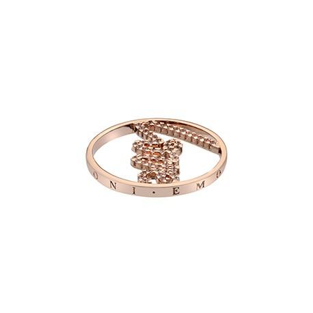Přívěsek Hot Diamonds Emozioni Sparkle Love Rose Gold Coin