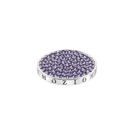 Přívěsek Hot Diamonds Emozioni Scintilla Violet Spirituality Coin