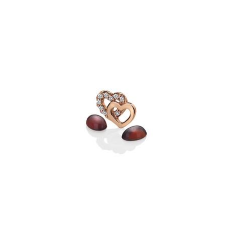 Přívěsek Hot Diamonds Srdíčka Anais element EX107