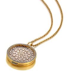 Stříbrný náhrdelník Hot Diamonds Emozioni DP558CH010EC170