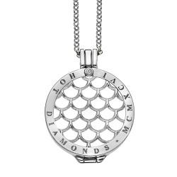 Stříbrný náhrdelník Hot Diamonds Emozioni DP450CH025EC055