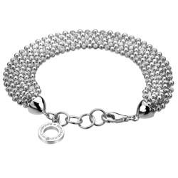 Stříbrný náramek Hot Diamonds Deluxe Garland Bead