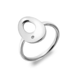 Stříbrný prsten Hot Diamonds Emerge Oval