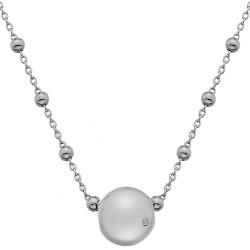 Stříbrný náhrdelník Hot Diamonds Globe
