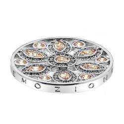 Přívěsek Hot Diamonds Emozioni Girasole Champagne Coin