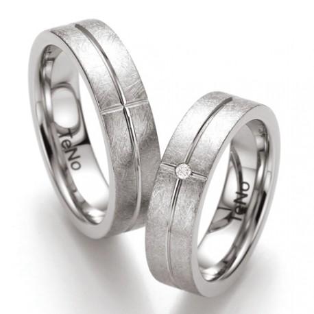 Prsten s diamantem TeNo Yunis 069-3212-D54
