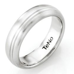 Pánský ocelový prsten TeNo Tamor Satin