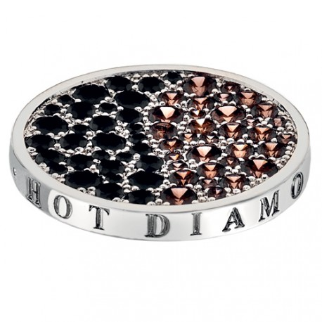Přívěsek Hot Diamonds Emozioni Corrente Brown Coin