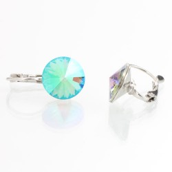 Náušnice s krystaly Swarovski Rivoli 12 44112212LUM