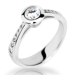Prsten s brilianty Danfil DF2124