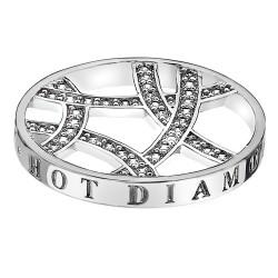 Přívěsek Hot Diamonds Emozioni Ice Sparkle Arc Coin