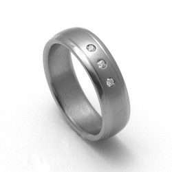 Dámský titanový snubní prsten TTN1603