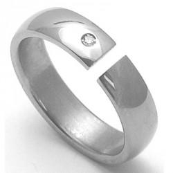 Dámský titanový snubní prsten TTN3302