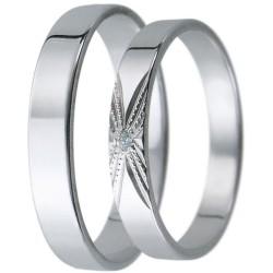 Snubní prsteny kolekce D27