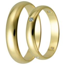 Snubní prsteny kolekce HARMONY26-27