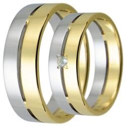 Snubní prsteny kolekce HARMONY17