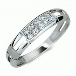 Prsten s brilianty Danfil DF2033