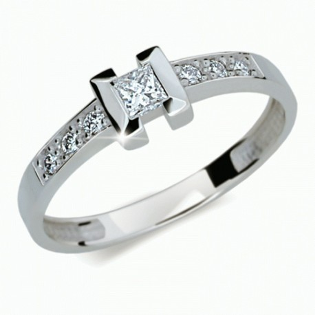 bb1d6701a Prsten s brilianty Danfil DF2062 - NAUSNICE.CZ