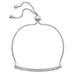 Stříbrný náramek Hot Diamonds Crystal Clear