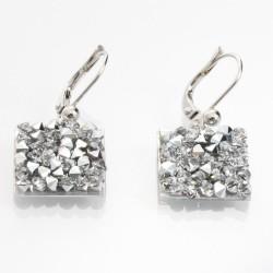 Náušnice s krystaly Swarovski Rock 11404553CR