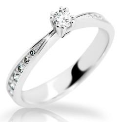 Prsten s brilianty Danfil DF2123