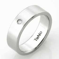 Prsten s diamantem TeNo Partnerring TaMoR