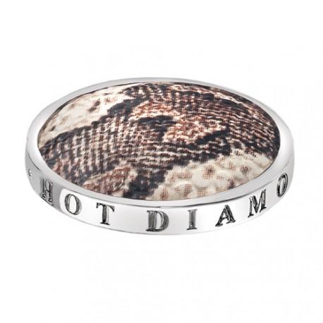 Přívěsek Hot Diamonds Emozioni Faux Snake Coin