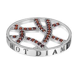 Přívěsek Hot Diamonds Emozioni Fire Sparkle Arc Coin