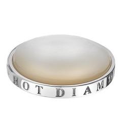 Přívěsek Hot Diamonds Emozioni White Mother of Pearl Coin