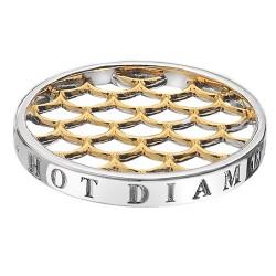 Přívěsek Hot Diamonds Emozioni Gold Weaver Coin