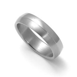 Pánský titanový snubní prsten TTN0401