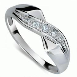 Briliantový prsten Danfil DF1915