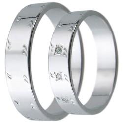 Snubní prsteny kolekce D18