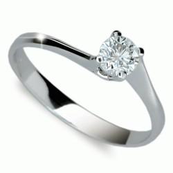 Prsten s briliantem Danfil DF1957