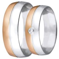 Snubní prsteny kolekce VIOLA_23