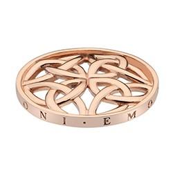 Přívěsek Hot Diamonds Emozioni Celtic Cross Rose Gold Coin