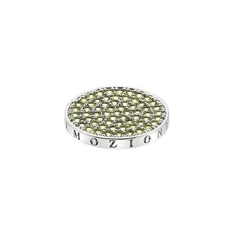 Přívěsek Hot Diamonds Emozioni Scintilla Peridot Nature Coin