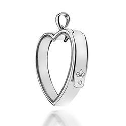 Přívěsek na elementy Hot Diamonds Anais Srdce EX009