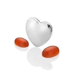 Přívěsek Hot Diamonds Srdce Červenec Anais element EX126