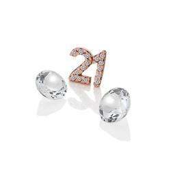 Přívěsek Hot Diamonds Jednadvacet Anais element EX211